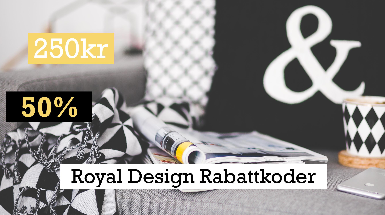 Handla med Royal Design rabattkod