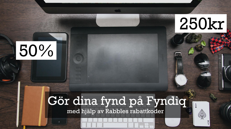 Fyndiq rabattkod