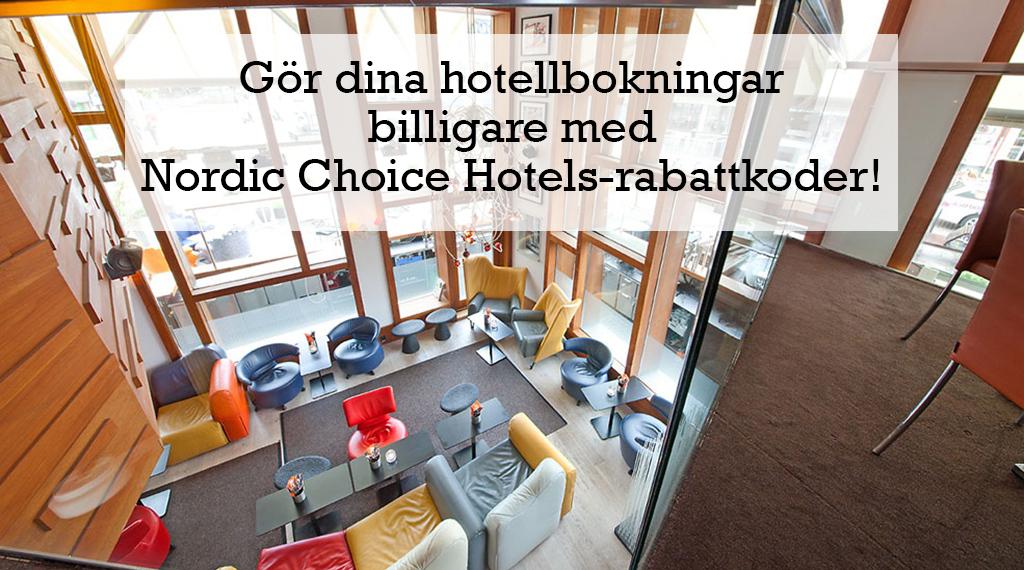 nordic choice hotels rabattkod