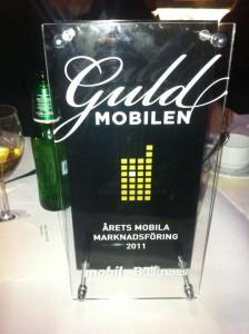 guld mobilen