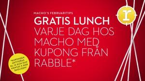 Gratis lunch rabble