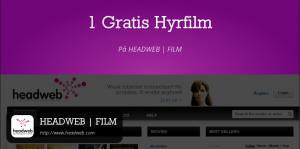 Gratis film rabattkupong på Headweb med Rabble