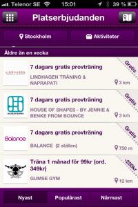 Annonsera i mobilen - marknadsföring av gym i Stockholm