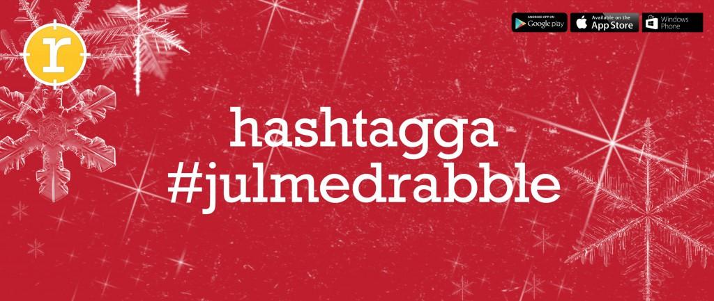 hashtagga med julrabble