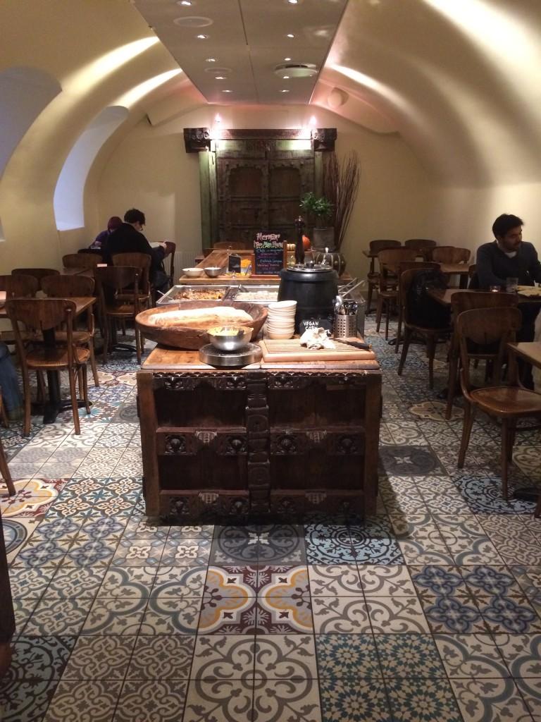 Den nya matsalen