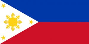 filippinerna flagga