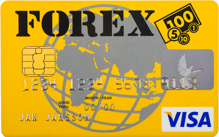 Forex Visa betal-och kreditkort
