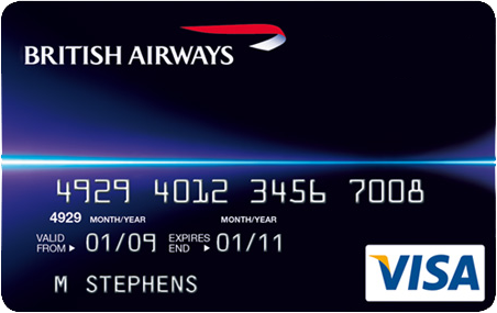 british airways visa