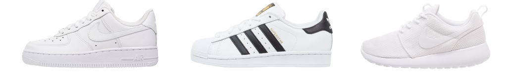 Köpa vita sneakers