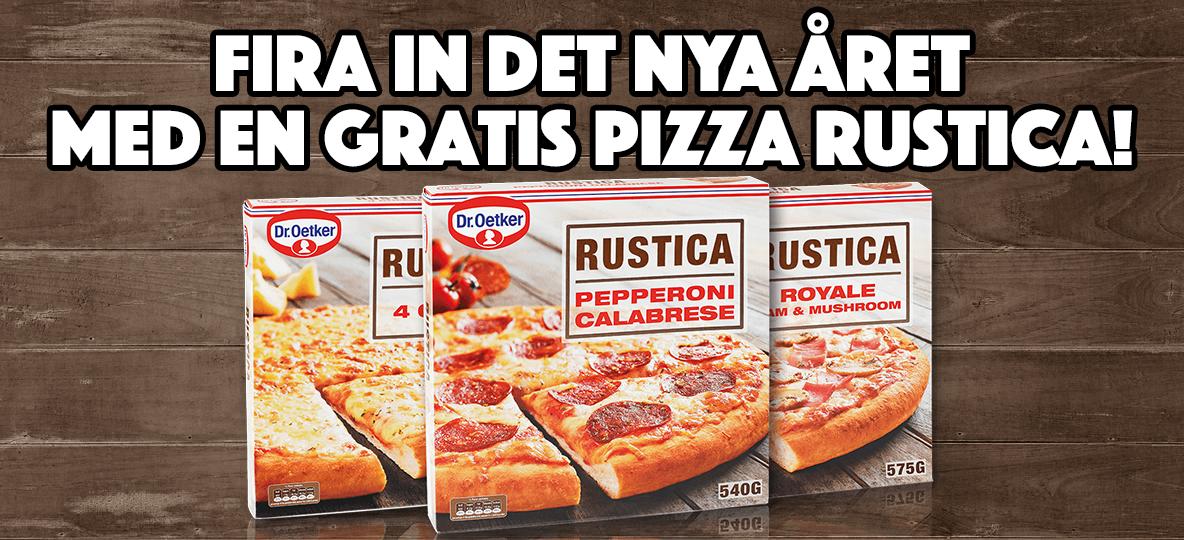 dr oetker rustica pizza