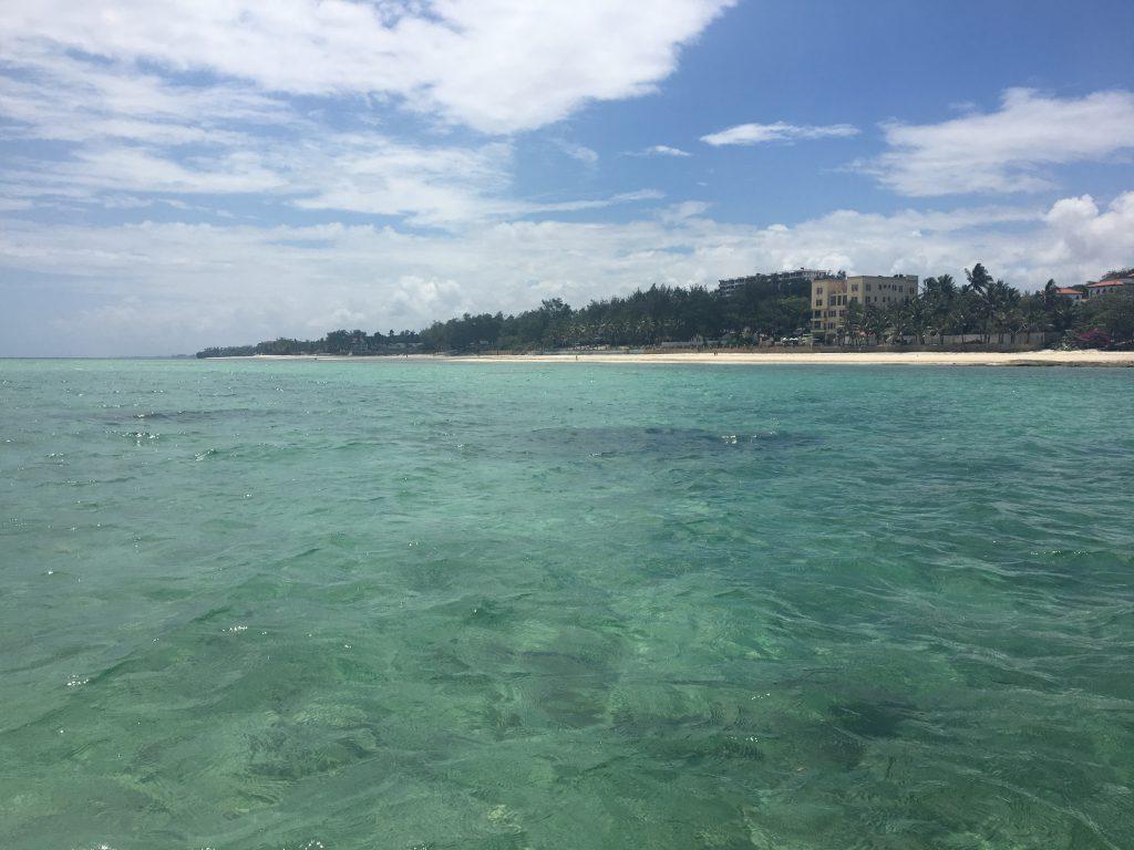 hotellet + havet